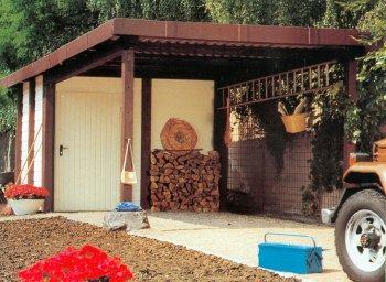 carports mit ger teraum oder werkraum. Black Bedroom Furniture Sets. Home Design Ideas