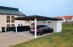 doppelcarport mit ger teraum carports produktkatalog. Black Bedroom Furniture Sets. Home Design Ideas